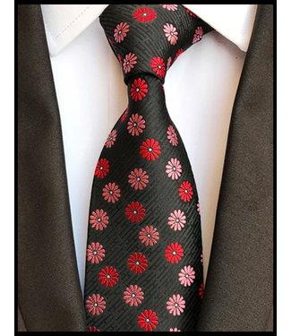 merkloos Schwarz Krawatte