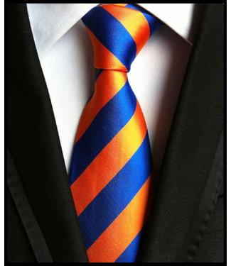 merkloos Orange Tie