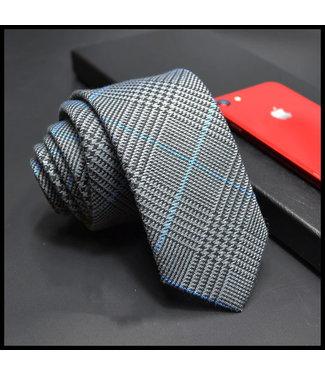 merkloos Blau Krawatte