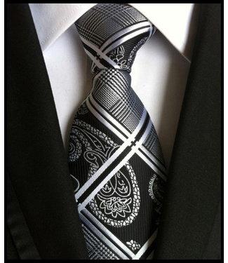 merkloos Braun Krawatte