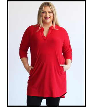 Magna Red Magna Blouse