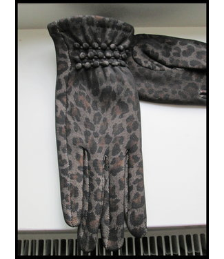 merkloos Black Gloves