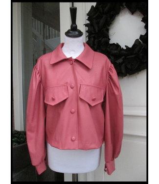 merkloos Pink Coat