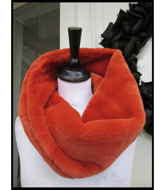 merkloos Orange Shawl