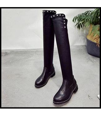 merkloos Black Boots