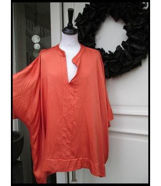 merkloos Orange Tunic