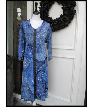 Magna Blau Magna Kleid