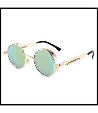 merkloos Grün Brille