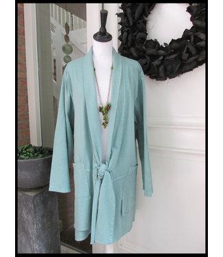 merkloos Green Waistcoat