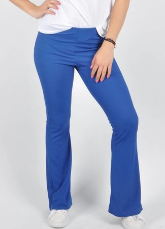 Lily flare pants blue