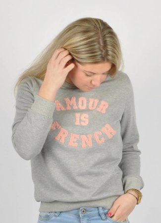 French sweater grey