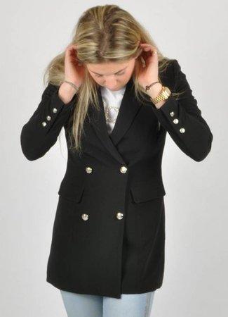 Stella blazer black