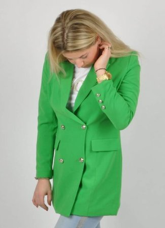 Stella blazer green