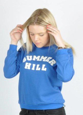 Summer hill sweater blue