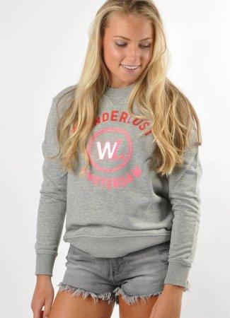Wanderlust Wanderlust logo sweater