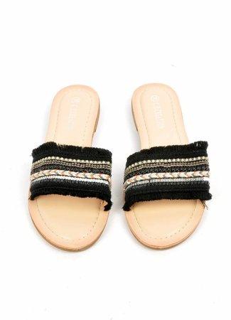 Jessie sandals black