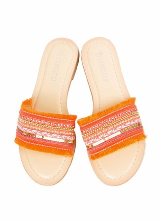 Jessie sandals orange