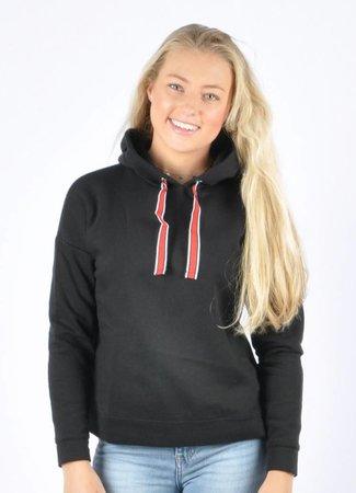 Louise hoodie black