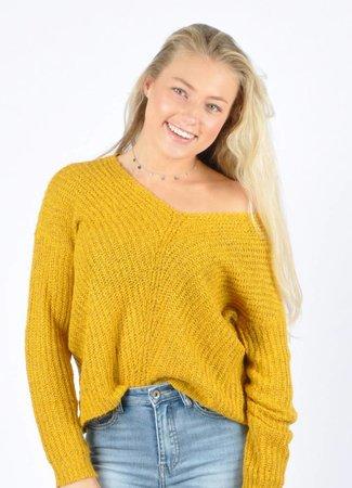 Megan pullover golden spice
