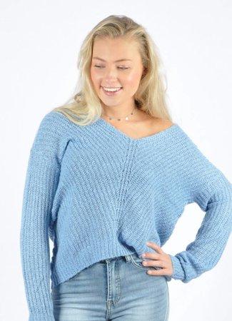 Megan pullover light blue