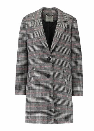 Emma check jacket