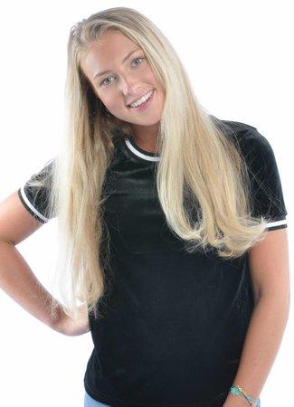 Loua top black