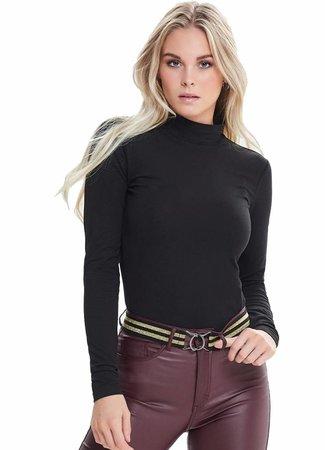 Ava turtleneck black