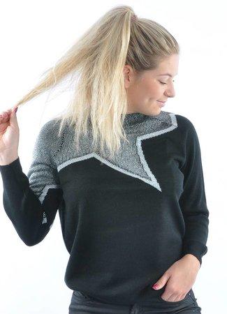 Star sweater silver