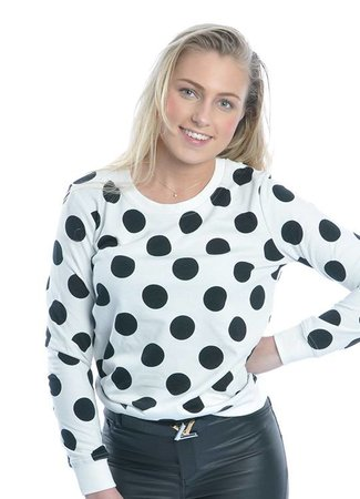 Dotted sweater