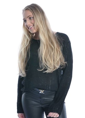 Helena top black