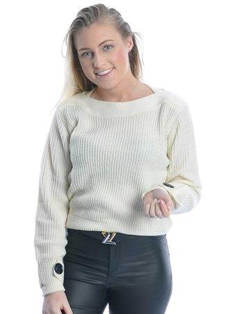 Tonic sweater white