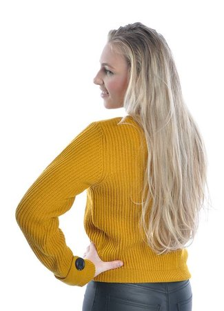 Tonic sweater yellow