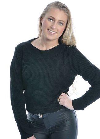 Tonic sweater black