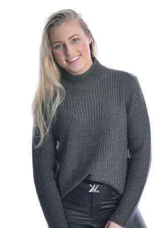 Justy sweater grey