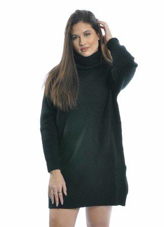 Lola sweater dress black