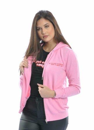 Lola hoodie pink