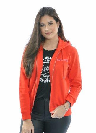 Lola hoodie red