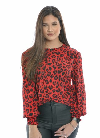 Milo blouse red