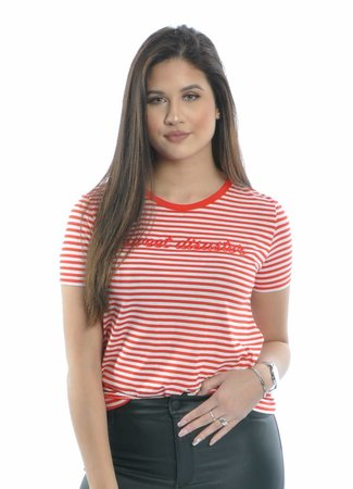 Yara shirt red