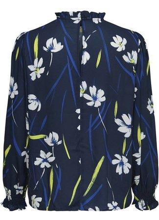 Innes blouse flower