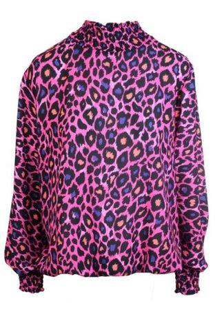 Lulu blouse pink