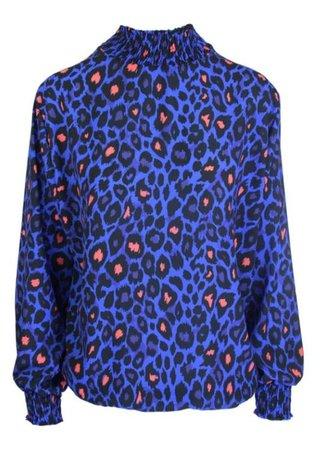 Lulu blouse blue