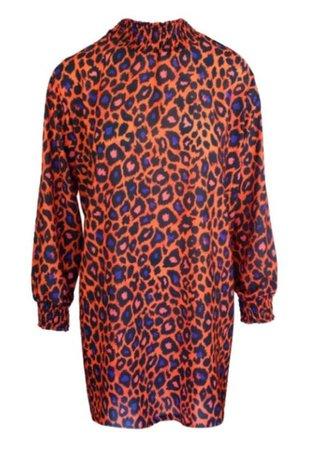 Lieke dress orange