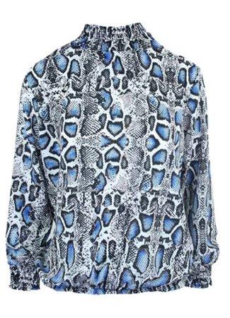 Mika blouse blue