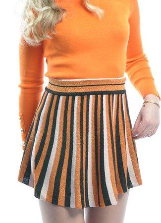 TESS V Fenna skirt orange