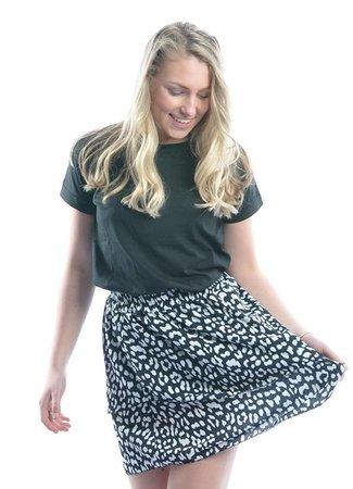 TESS V Liv skirt white