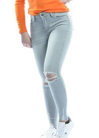 Queen Hearts Queen Hearts Anna jeans grey