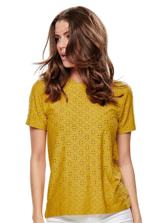 Lina top yellow