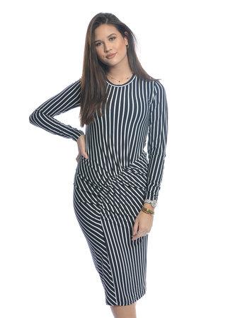 Nola striped dress