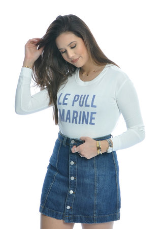 Sara skirt blue